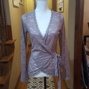 Victoria's secret mauve lace wrap